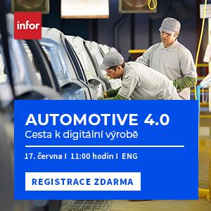 Automotive 4.0: cesta k digitální výrobě (Infor)