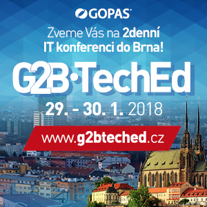 Gopas - G2B TechEd 2018