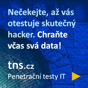 tns.cz - penetraÄŤnĂ­ testy IT